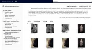 Interface de consultation en ligne des archives du CFEETK