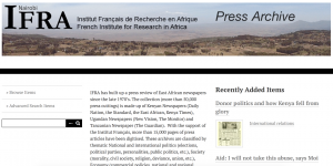 IFRA Press archive